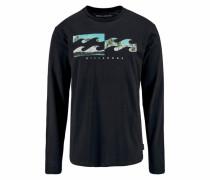 Shirt 'Inverse LS' schwarz