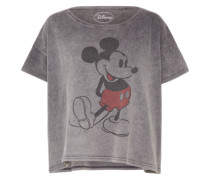 T-Shirt 'Classy Micky' rauchgrau