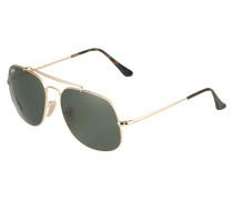 Pilotbrille mit Metallrahmen