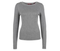 Pullover im Lagen-Look grau
