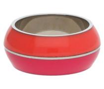 Fingerring 'esrg11563C' pink / orangerot