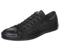Chuck Taylor All Star Core OX Leather Sneaker schwarz