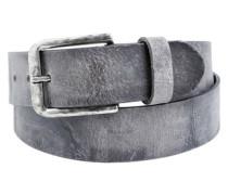 Vintage-Gürtel grau