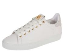Sneaker mit Swarovski-Kristall-Besatz weiß
