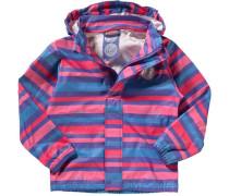 Kinder Regenjacke für Mädchen blau / lila
