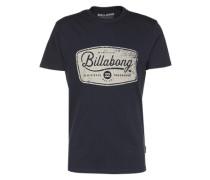 T-shirt 'pits TOP SS' blau