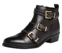 Ankle-Boots mit Schnallen schwarz
