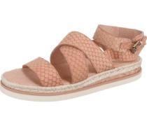 'Goa' Sandaletten beige / rosa / altrosa