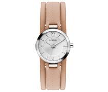 Armbanduhr »So-3119-Lq« braun