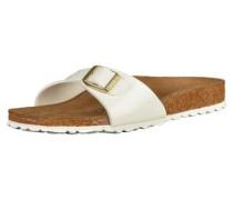 Sandale 'Madrid' Lack weiß