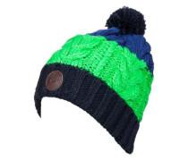 Bommelmütze »Apex« blau / grün