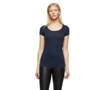 BOSS ORANGE Basicshirt 'Tafame' dunkelblau