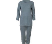 Schlafanzug grau