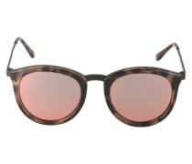 Sonnenbrille 'No Smirking' braun / hellbraun / dunkelbraun