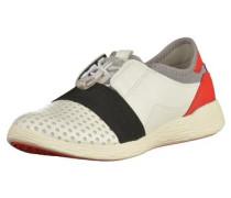 Slipper rot / schwarz / weiß
