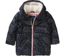 Baby Winterjacke für Mädchen blau