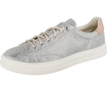 Sidney Lace up Sneakers Low silber