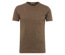 T-Shirt mit Brusttasche 'Kurt' khaki