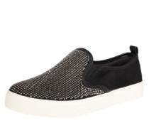 Sneaker 'Jille' schwarz / silber