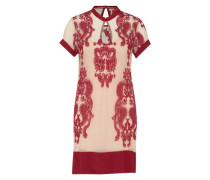 Kleid aus Mesh 'The Sweetest Sound' creme / rot