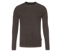 Pullover 'Core straight r knit l/s' schwarz
