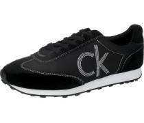 Sneakers 'Yul' schwarz / weiß