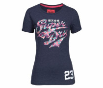 T-Shirt 'stacker Entry Tee' blau
