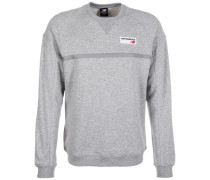 'Athletics Crew' Sweatshirt graumeliert