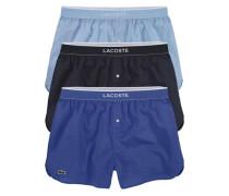 Boxershorts (3 Stück) nachtblau / royalblau / hellblau