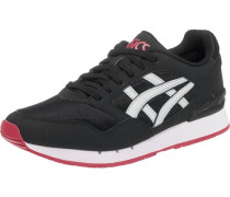 Sneaker 'gel-Atlanis' rot / schwarz / weiß