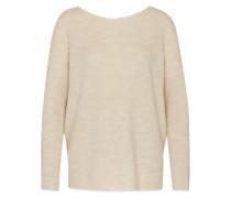 Pullover mit Kaschmir beige / braun