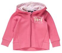 Baby Sweatjacke für Mädchen hellgelb / pastellgrün / pink / rosa / weiß