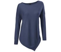 U-Boot-Pullover blau