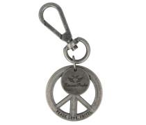 Schlüsselanhänger 11 cm graphit