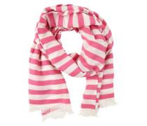 Schal mit Streifen 'scarves' creme / pink