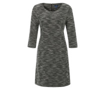 Kleid aus Bouclé schwarz