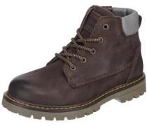 Stiefel für Jungen schoko / grau