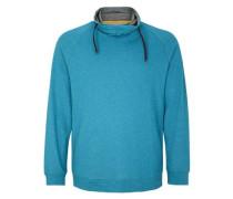 Langarmshirt mit Turtleneck hellblau