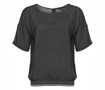 Shirtbluse 'Fanike' schwarz