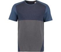 T-shirt 'LM Blocked' dunkelblau