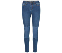 Skinny Fit Jeans Seven NW Ankle blau