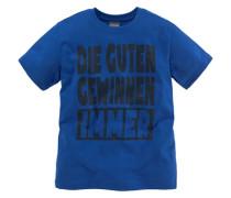 T-Shirt für Jungen royalblau