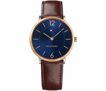 Quarzuhr »Sophisticated Sport 1710354« blau / braun