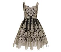 Kleid 'Renesmee' gold / schwarz