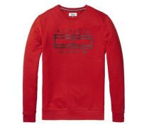 Sweatshirt 'thdm Outline CN Hknit L/S 27' rot