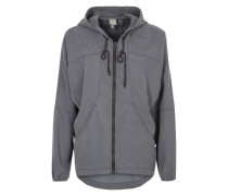 BENCH Blousonjacke 'Circle of light' grau