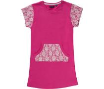 Kinder Sweatkleid pink / altrosa