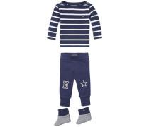 Baby-Set 'big Stripe Baby 3 Piece' navy