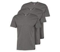 T-Shirt im 3er Pack dunkelgrau