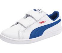 Kinder Sneakers 'Smash Fun' aus Leder blau / weiß